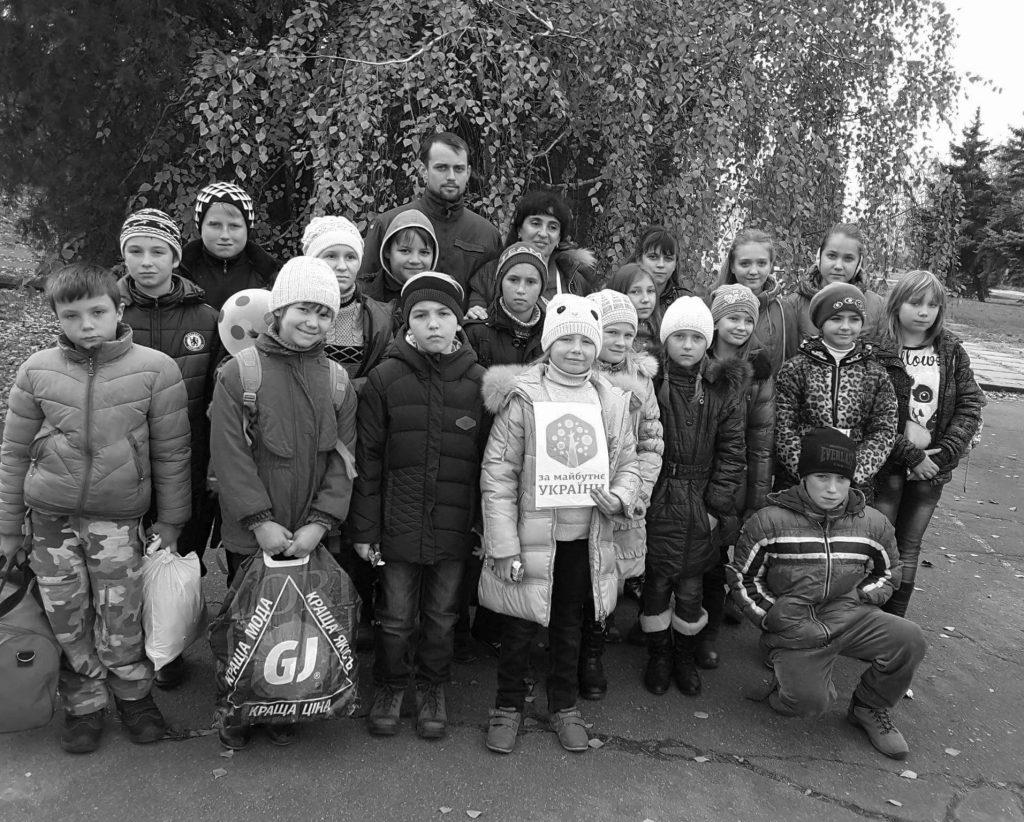 Bedürftige Kinder Ukraina